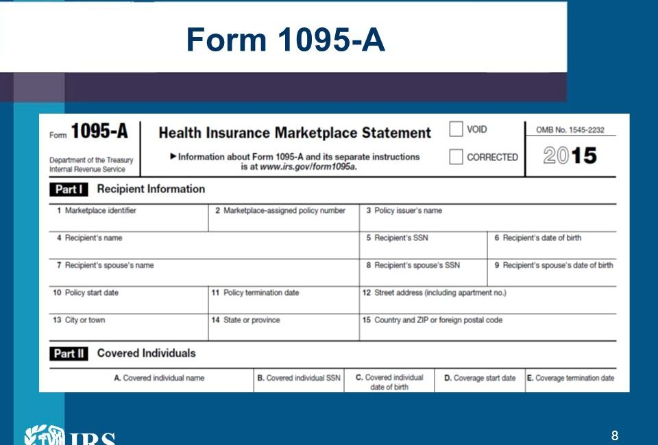 1095 A Tax Form Welk Security Trust